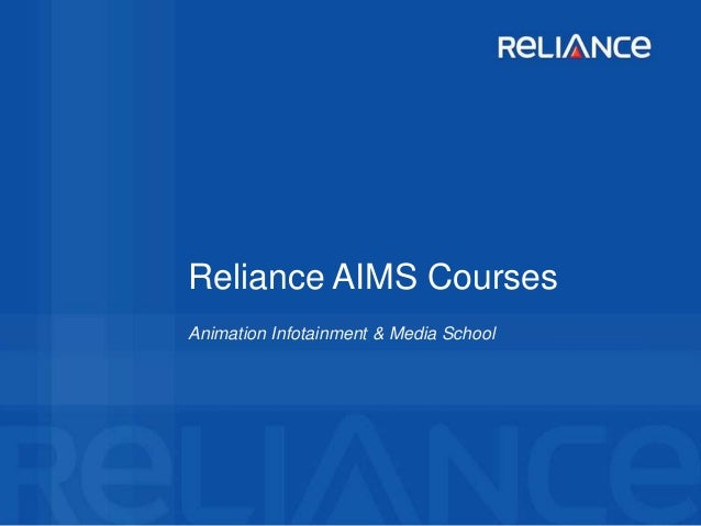 Reliance aims courses