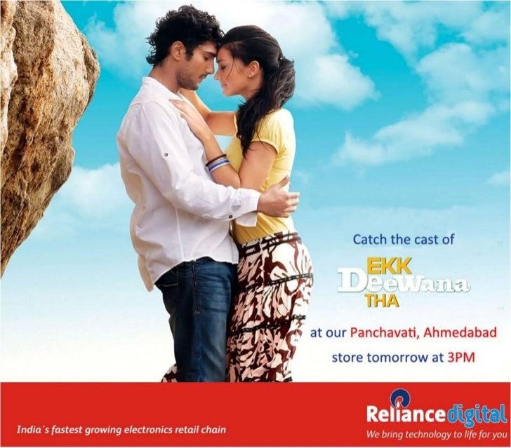 Reliance digital, Ahmedabad Hosts the Stars of Upcoming Movie 'Ek Deewana Tha' Amy Jackson & Prateik