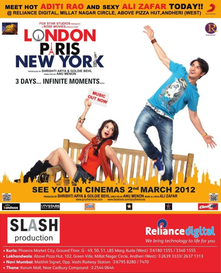 Reliance Digital Store Host the Stars of Upcoming Movie 'London Paris New York - Aditi Rao & Ali Zafar