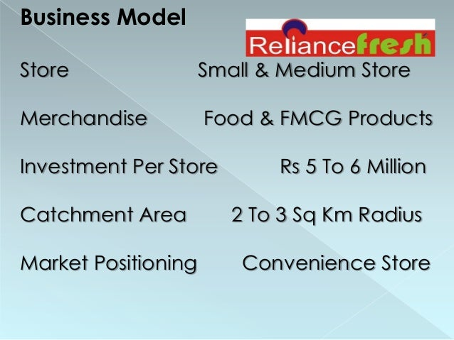 Reliance Fresh Supply Chain Essay
