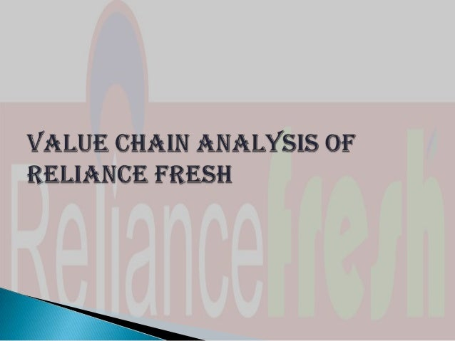 value chain analysis of fmcg Business analysis - value chain analysis title length color rating : essay about value chain analysis - many organizations do not achieve the profits they anticipate by using incorrect.