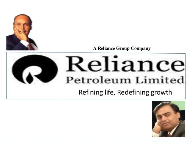A Reliance Group CompanyRefining life, Redefining growth