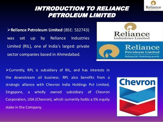 marketing strategies of reliance petroleum ltd View irfan ansari's profile on linkedin devise and manage marketing strategies for new store launches reliance petroleum pvt ltd.