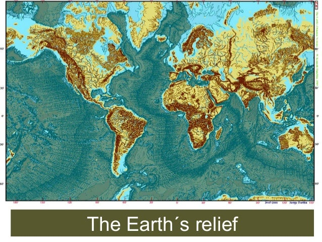 The Earth´s relief