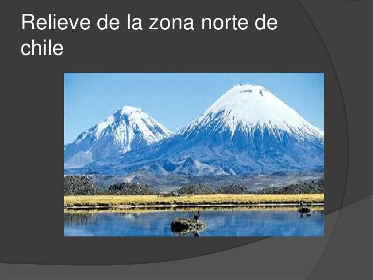 Relieve De La Zona Norte De Chile