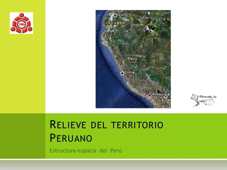 Relieve del territorio peruano