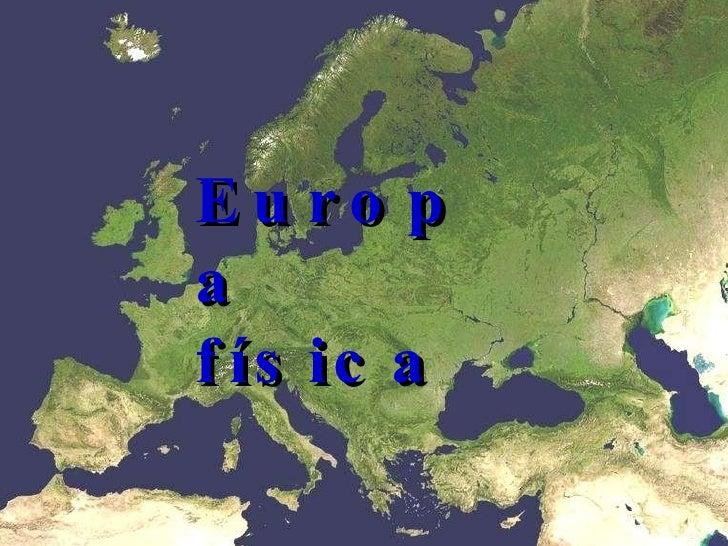 Relieve Europeo
