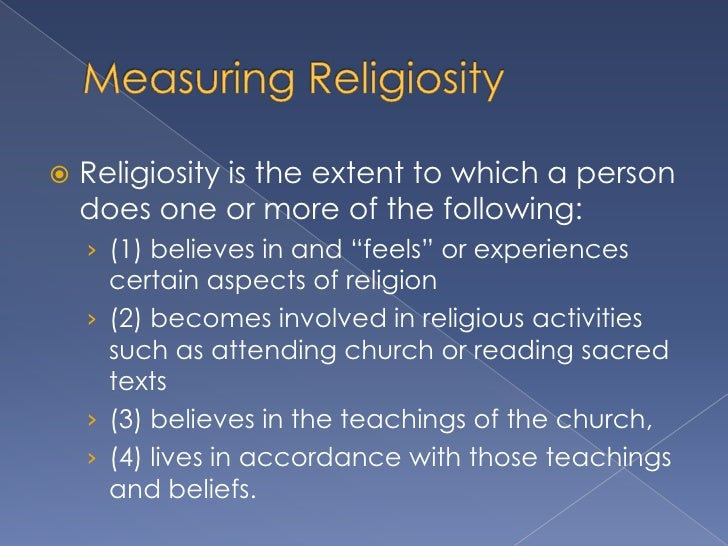 how to measure religion in sociology Measure the two concepts this section rst addresses the de nition and measurement of religiosity, and the de nition and measurement of prosocial.