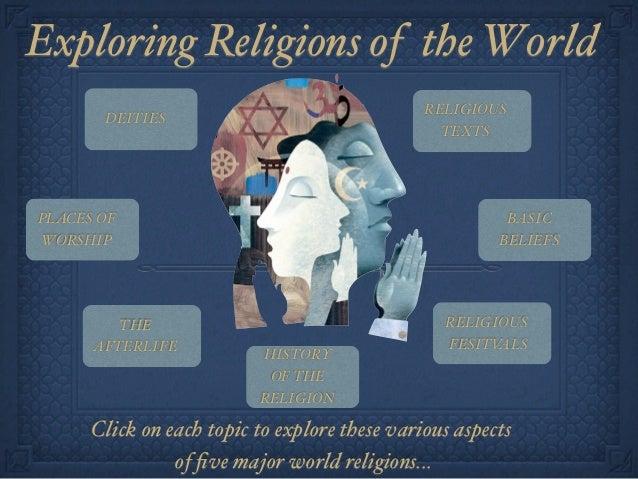 Exploring Religions of the W0rld                                               RELIGIOUS       DEITIES                    ...
