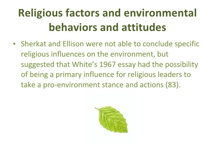What role do you believe environment plays in behavior?Can changing one's environment effectively change their?