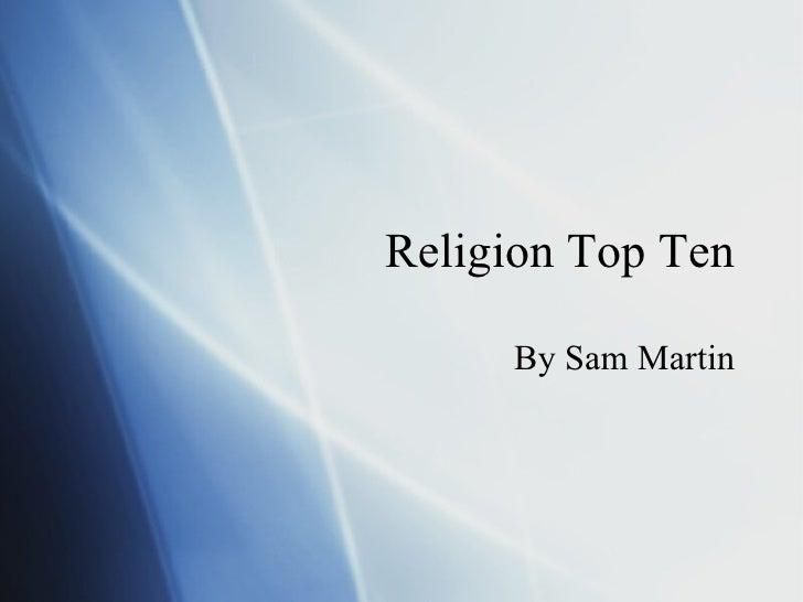 Religion Top 10 2