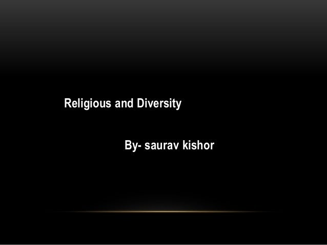 Religion and diversity