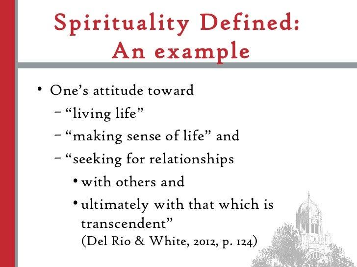 Essay in spirituality workplace