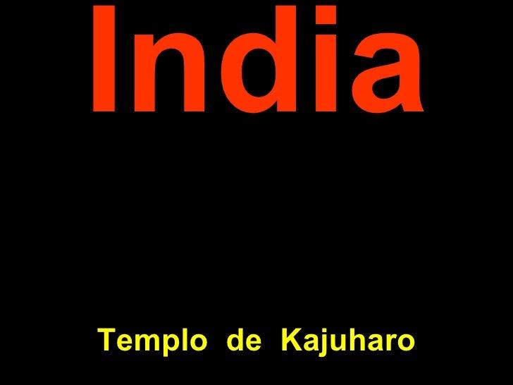 India Templo  de  K ajuharo