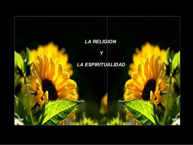 Religion y espiritualidad