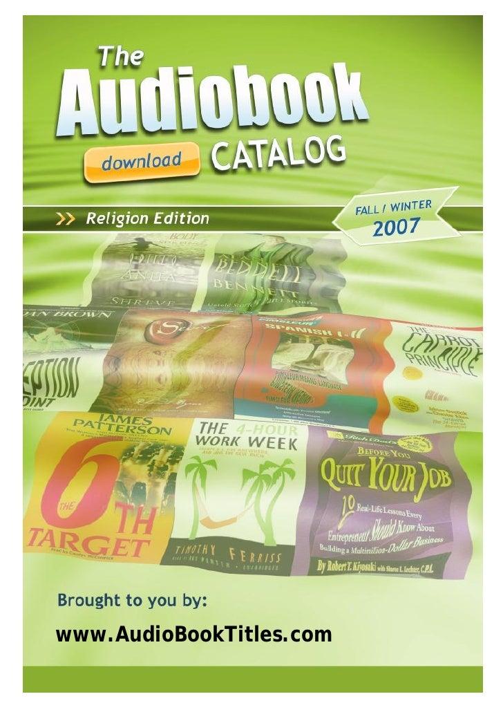 www.AudioBookTitles.com