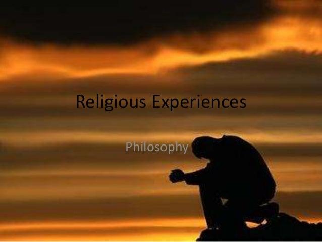 Religious Experiences Philosophy