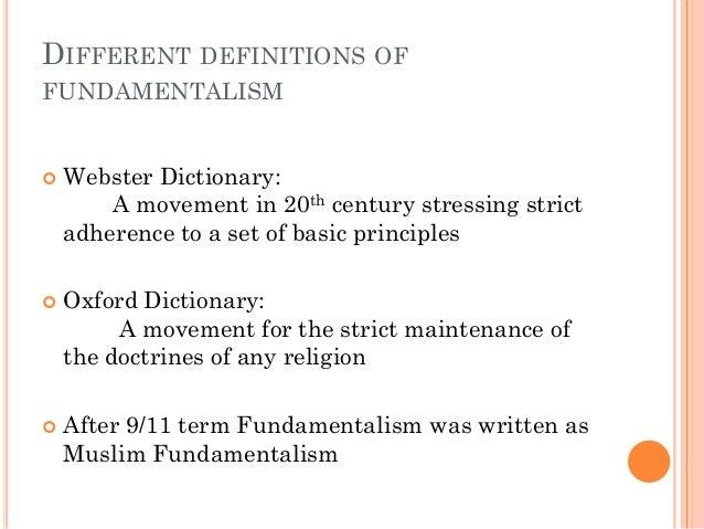 Fundamentalismo religioso