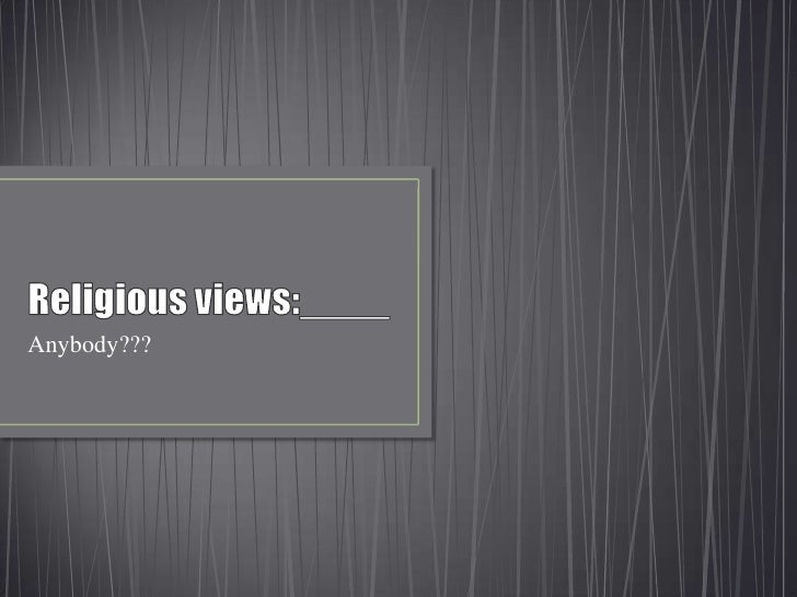 Religious identity of youngsters on facebook