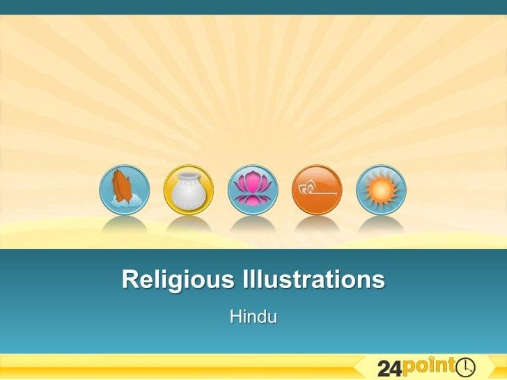 Religious illustrations Editable PPT