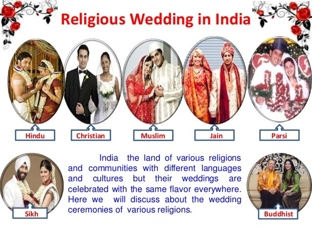 Religious wedding in india