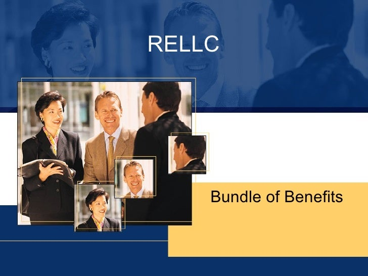 RELLC - Bundle of Benefits and Working Agreement