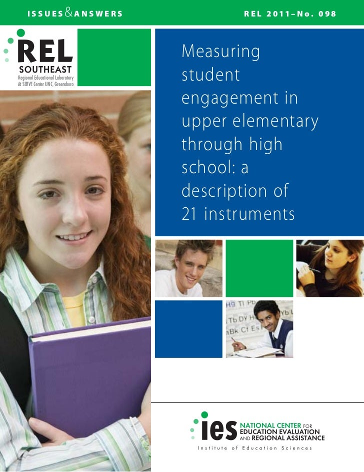 Rel measuring student-engagement (2011)