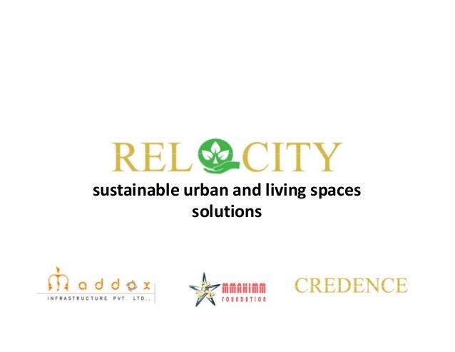 sustainableurbanandlivingspacesg p solutions