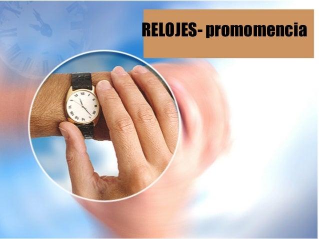 RELOJES- promomencia