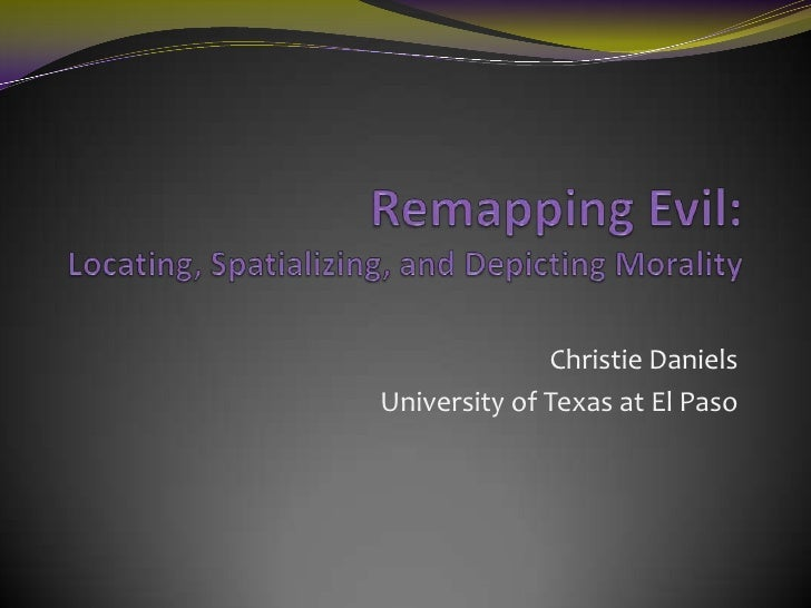Remapping Evil