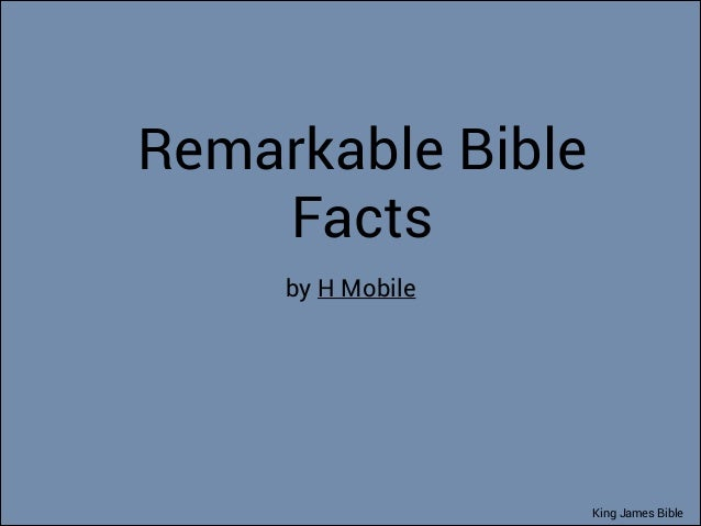 134 Amazing Facts of King James Bible That You Might Never Know. You Will Never Guess The Most Common Female Name (Fact #133)