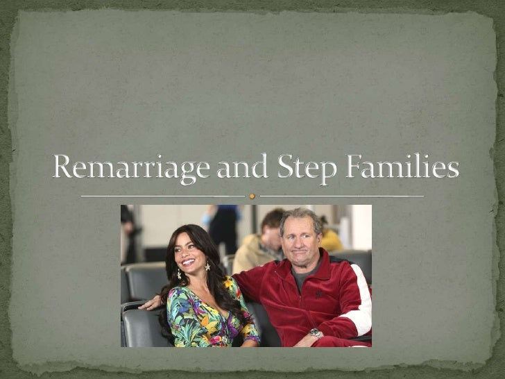HHS 4M1 - Remarriage and Stepfamilies