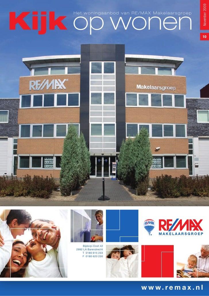 Remax Makelaarsgroep   Kijk Op Wonen No. 10