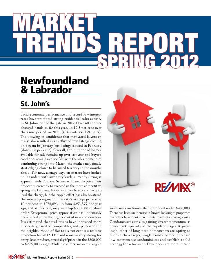 Remax Spring Market Trends