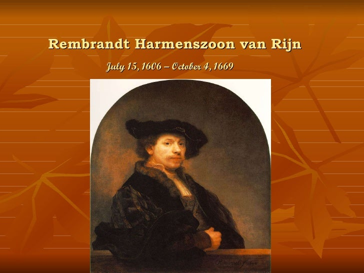 Rembrandt harmenszoon-van-rijn