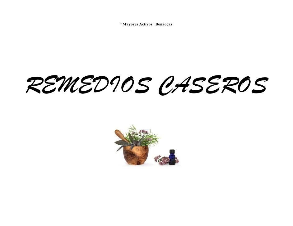 Remedios caseros pdf.