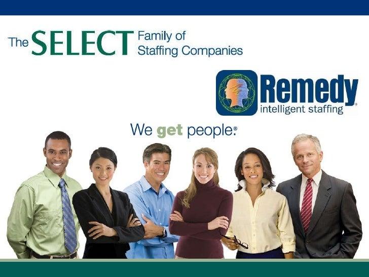 Remedy Sales Presentation   2010