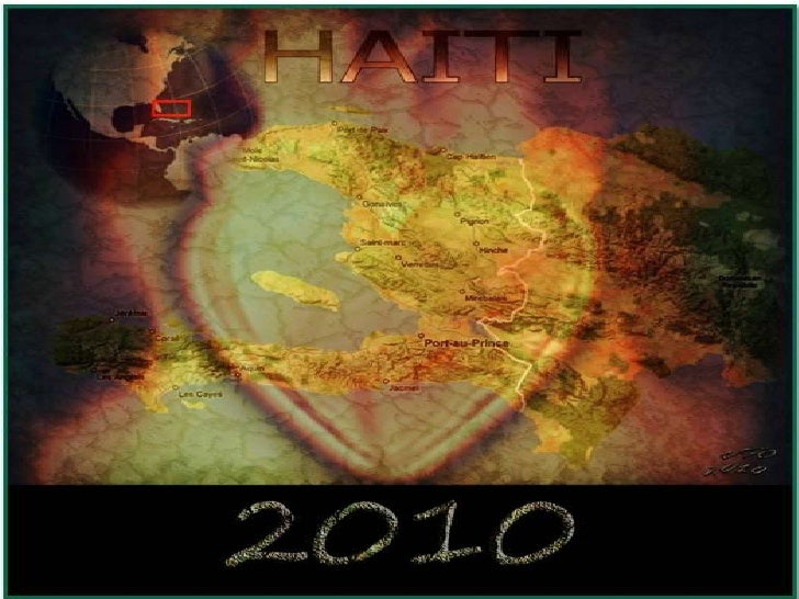 Remember Haiti as it was