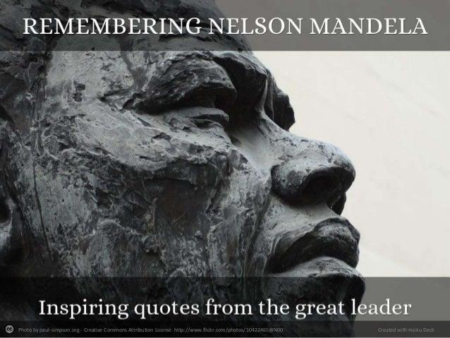 Remembering Nelson Mandela #RIPNelsonMandela