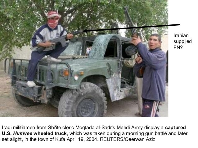 Remember Iraq: Wheeled Trucks Burning