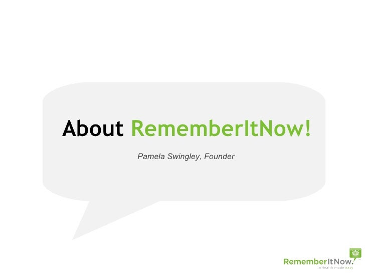 RememberItNow! A Great Employee Benefit