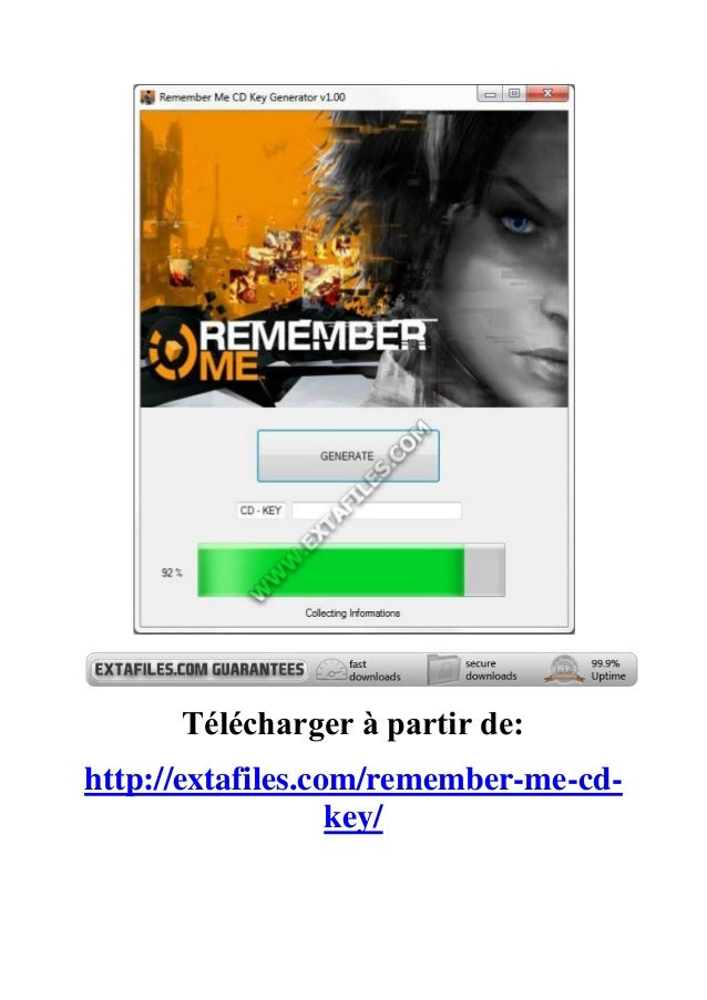 Télécharger à partir de:http://extafiles.com/remember-me-cd-key/