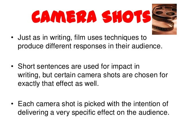 english film tecniques Drama strategies – also known as drama techniques or drama conventions  is a  drama technique borrowed from the world of film editing, where two scenes.