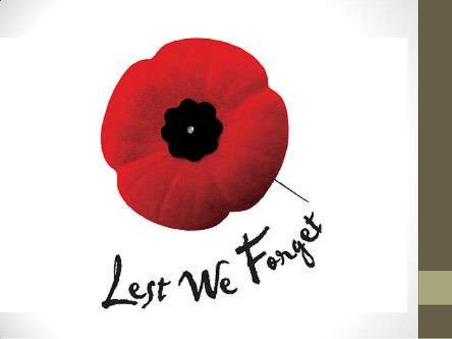 Remembrance Day Powerpoint (PYP)