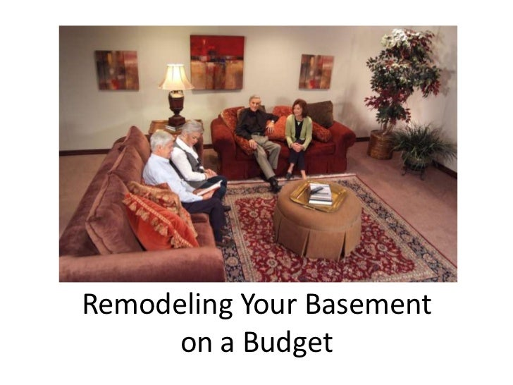 Basement Remodeling On A Budget