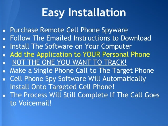 Install Cell Phone Spyware Remotely Install Spyware On Iphone Remotely ...