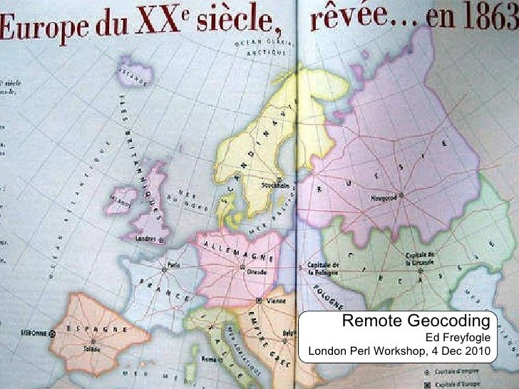 Remote Geocoding