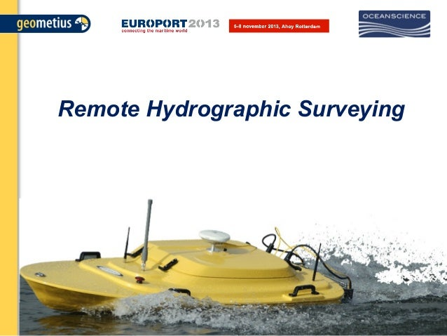 Remote Hydrographic Surveying