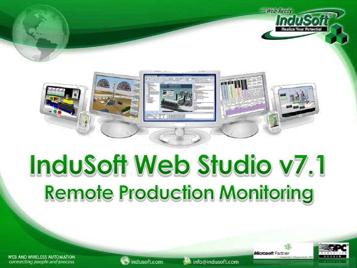 InduSoft Remote Production Monitoring Webinar