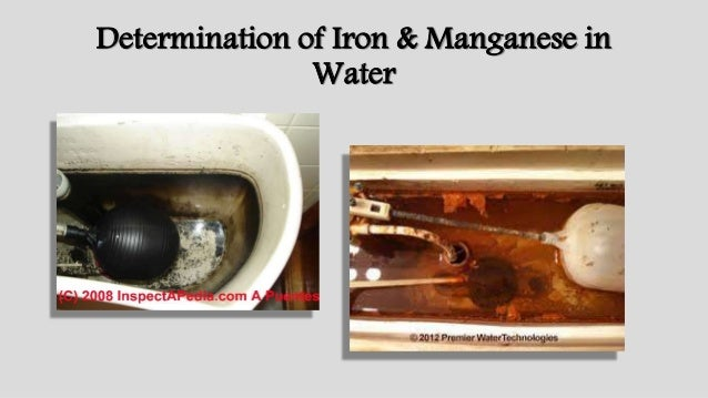 determination of iron by reaction with Synthesis of a complex iron determination of the equivalence point is reached when the total number of electrons lost in the oxidation reaction is.